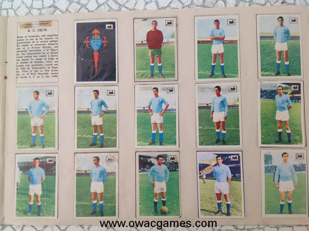 Celta 1969-70 Chocolates La Cibeles