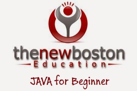 TheNewBoston - Java Tutorials for Beginners