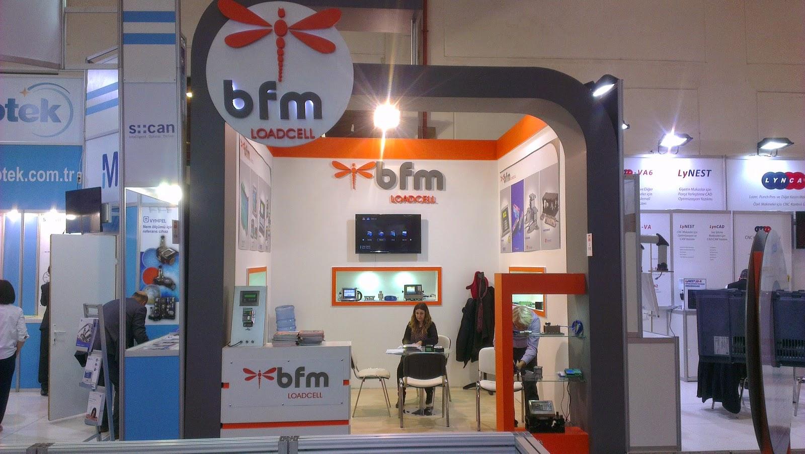 win otomasyon fuarında bfm