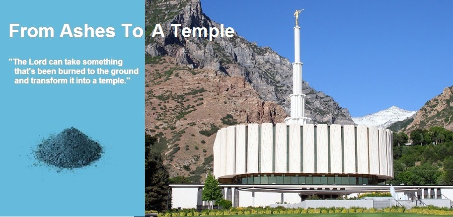 From Ashes to a Temple