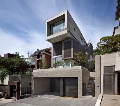 Rumah Modern Korea 2