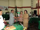 Plt.Bupati kabupaten kepulauan aru dan Kepala Dinas pendidikan dalam suatu kesempatan