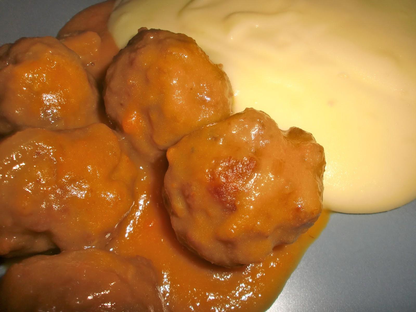 Albondigas con pure de patatas images - Albondigas de patata ...