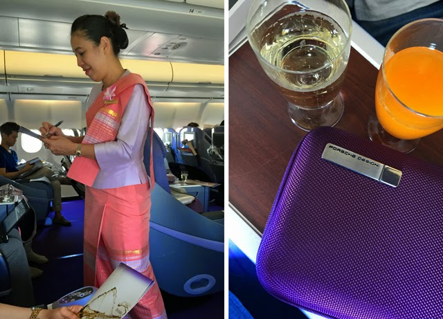 Thai Airlines Business Class