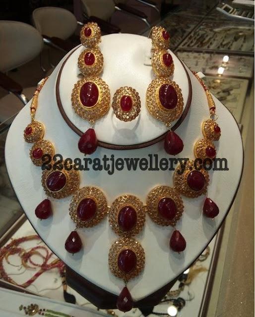 Buy Kundan Choker Necklace Priya Nacc10438c: Imitation Kundan Polki Bridal Sets 2 (One Gram Gold