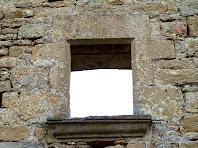 Una finestra del mas Pujalt