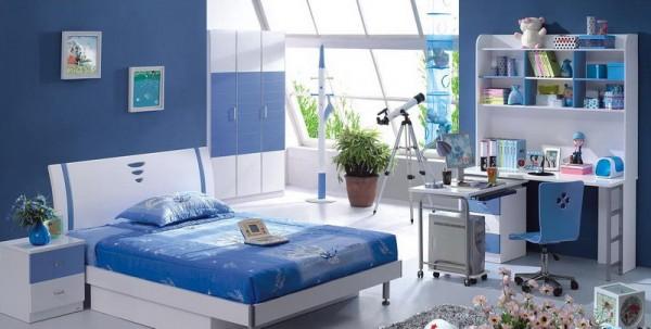 Blue Modern Kids Bedroom Furniture Modern Kids Bedroom Furniture Set