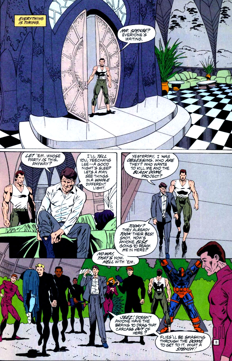 Deathstroke (1991) Issue #25 #30 - English 9