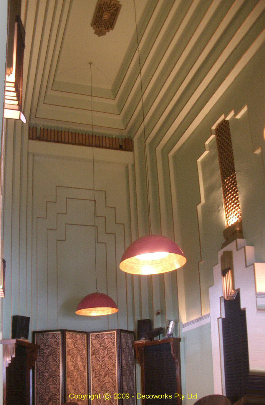 sydney art deco heritage kinselas hotel. Black Bedroom Furniture Sets. Home Design Ideas