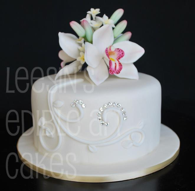 Penang Wedding Cakes By Leesin Single Tiered Wedding Cakes