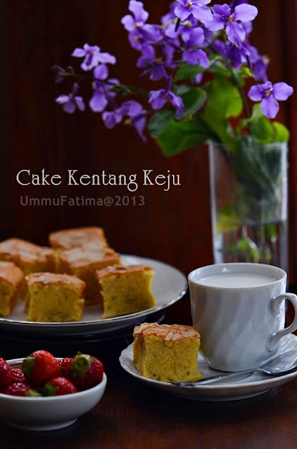 cake kentang keju no food additives