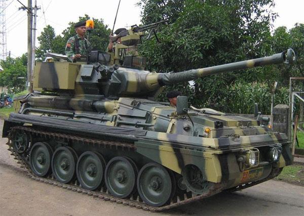 TANK SCORPION TNI AD