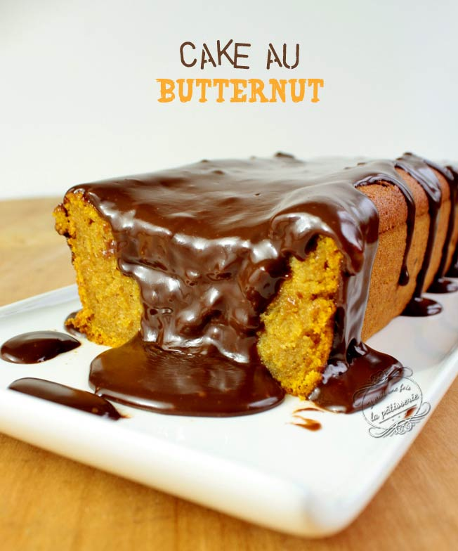 Cake butternut et chocolat