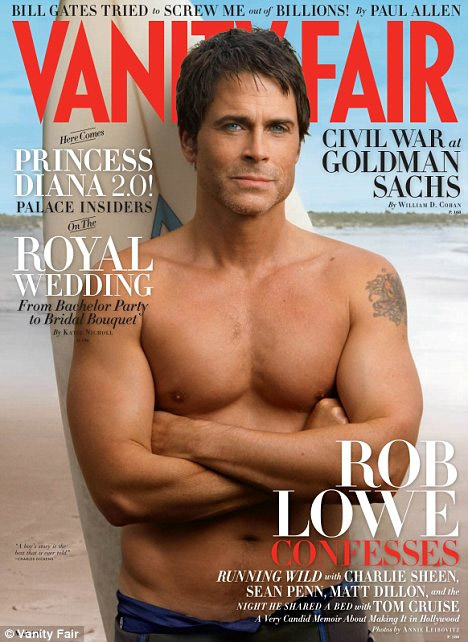 Rob lowe naked share