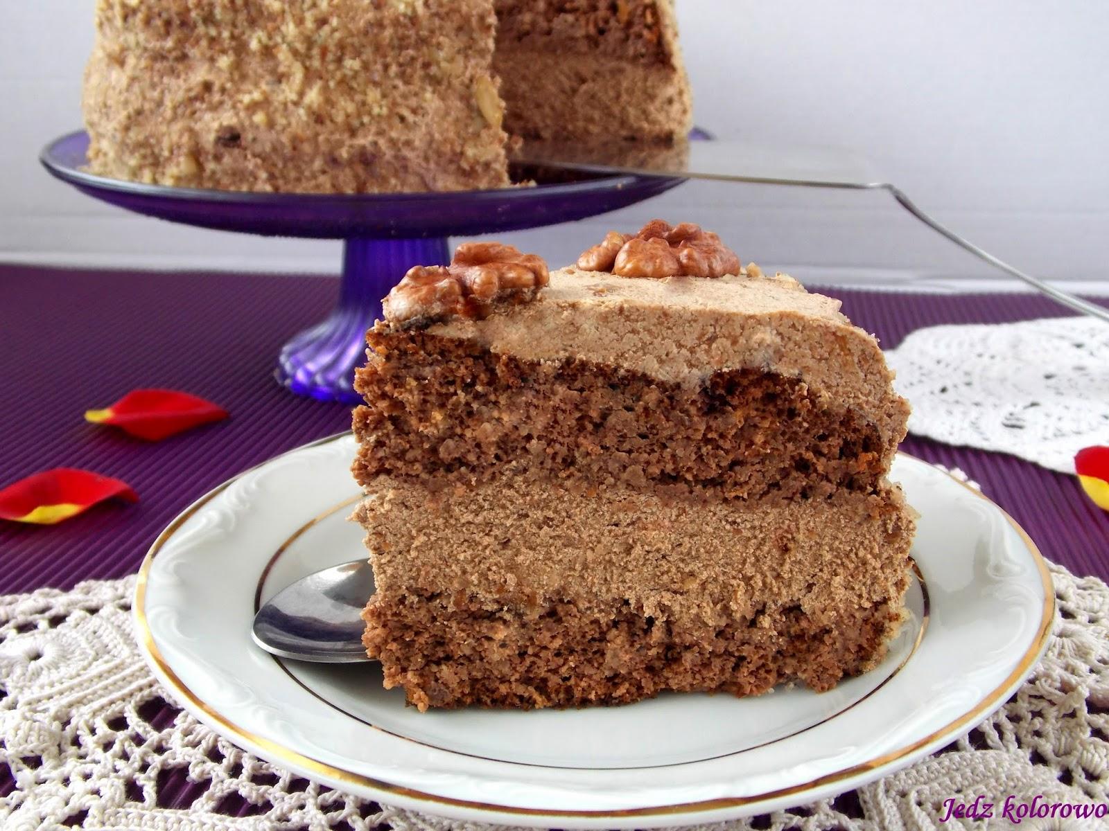 tort orzechowy bezglutenowy