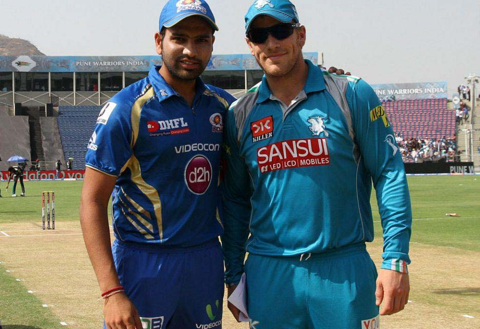 Rohit-Sharma-Aaron-Finch-PWI-vs-MI-IPL-2013