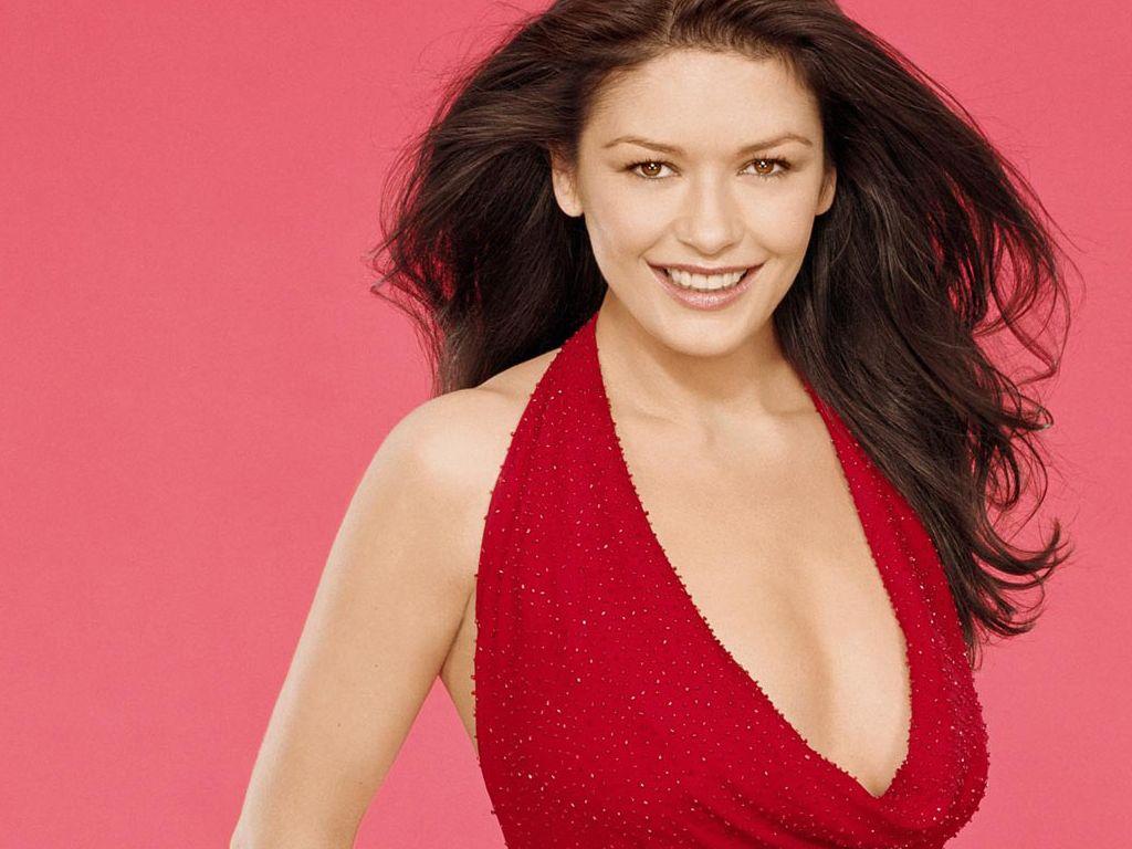 Catherine Zeta Jones Red Dress