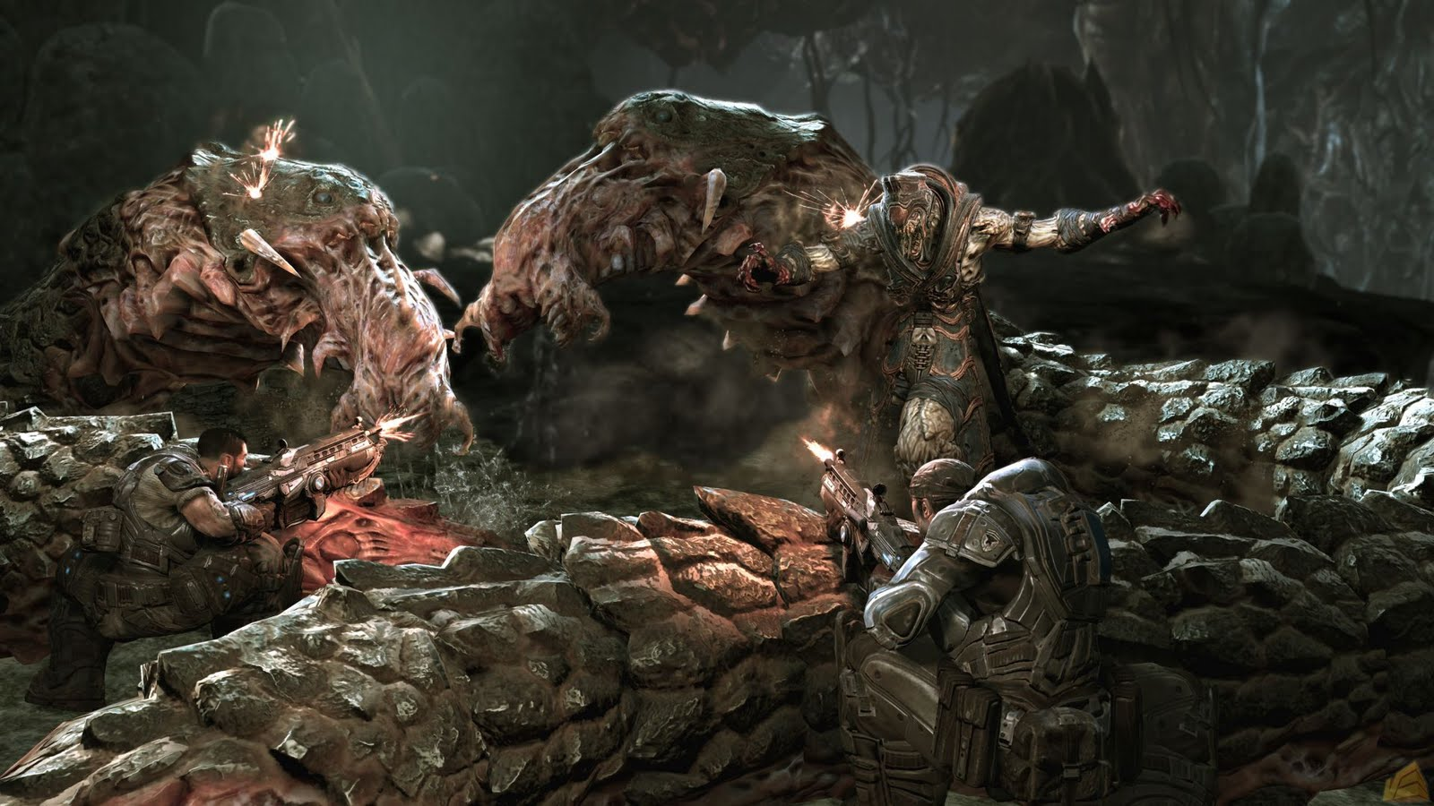 Gears of War HD & Widescreen Wallpaper 0.00380166152108297