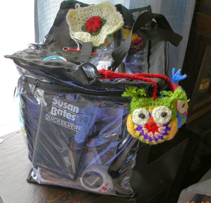 Yarn Tote Organizer Bag