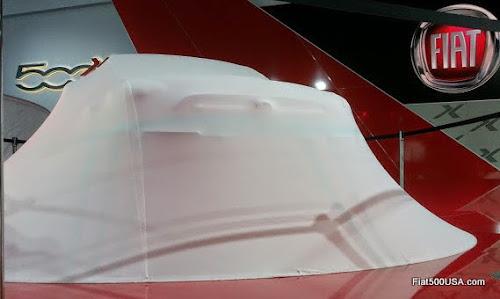 Fiat 500X Under Wraps at the LA Auto Show
