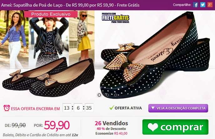 http://www.tpmdeofertas.com.br/Oferta-Amei-Sapatilha-de-Poa-de-Laco---De-R-9900-por-R-5990---Frete-Gratis-946.aspx