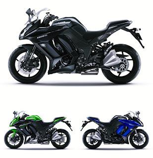 2016 Kawasaki Z1000SX Update