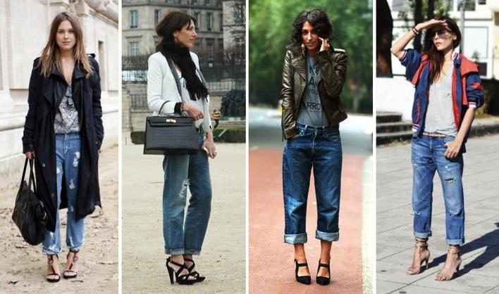 boyfriend jeans, street style