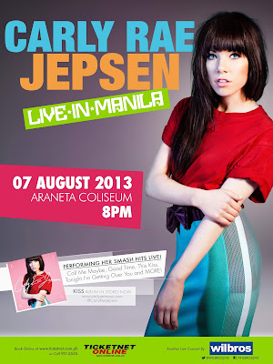 Carly Rae Jepsen Concert in Manila, Philippines