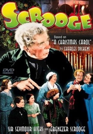 Scrooge DVD Cover Starring Sir Seymour Hicks, Donald Calthrop, with Robert Cochran