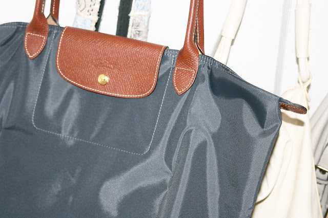 Katherine Penney Chic New Handbag Haul Shopping Designer Luxury Longchamp Pretty Gunpetal beautiful love preppy favourite