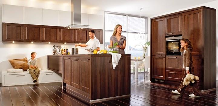 Marzua: Cocinas de madera modernas