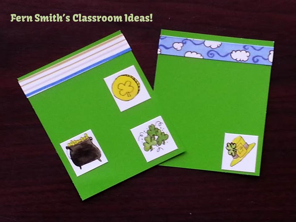 Fern Smith's Quick and Easy St. Patrick's Day Bookmarks with Paint Sample Cards