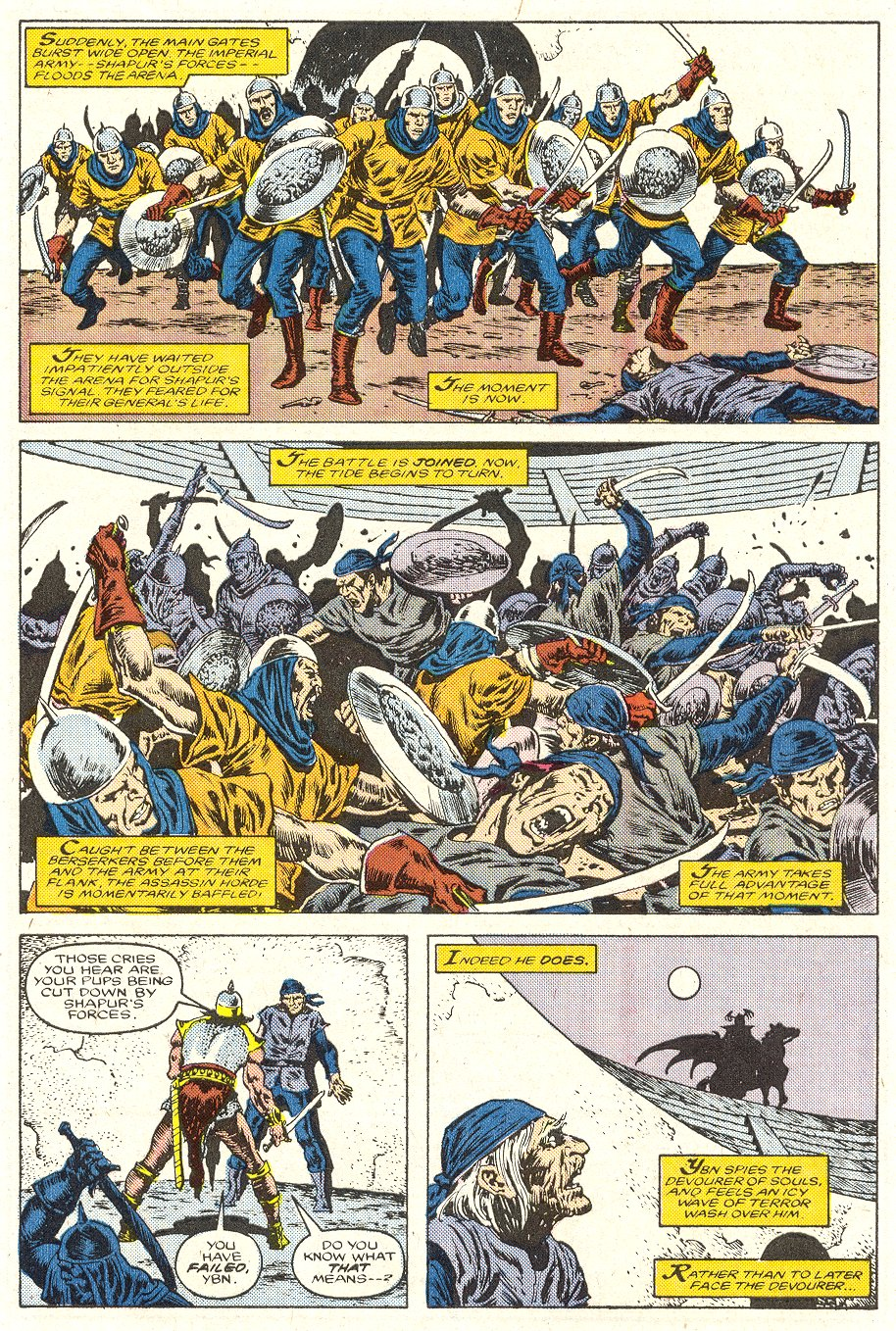 Conan the Barbarian (1970) Issue #188 #200 - English 20