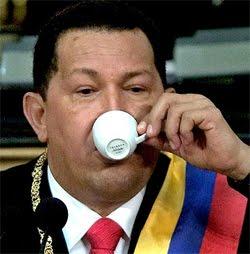 El Comandante  tomaba  mucho Café
