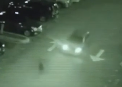 Shadow Person Gets Hit By Car The Vanishes, UFO Sightings