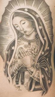 Tatuagens Virgem Maria