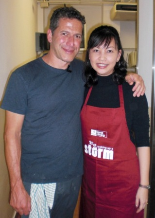 celebrity chef bob blumer cooking workshop