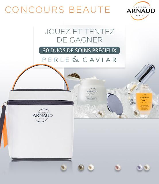 30 lots de produits de beauté Institut Arnaud
