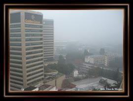 Nevoeiro sobre a Tijuca