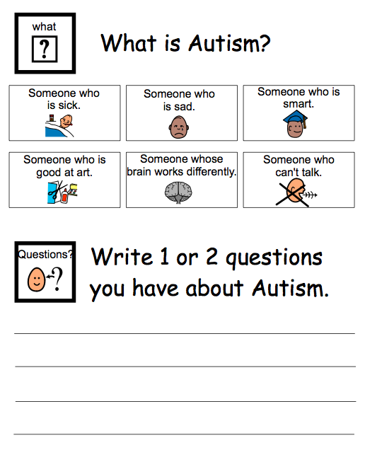 Printables Worksheets For Children With Autism worksheets for kids with autism abitlikethis how are you including students at your school