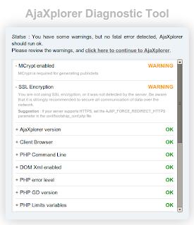 Instalasi AjaXplorer 4.2 di Ubuntu