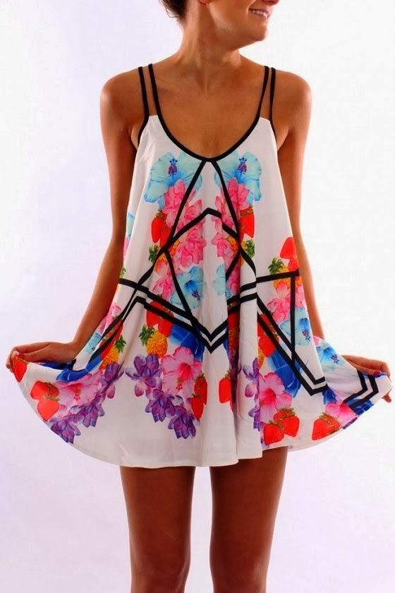 Jean Jail Floral Dress