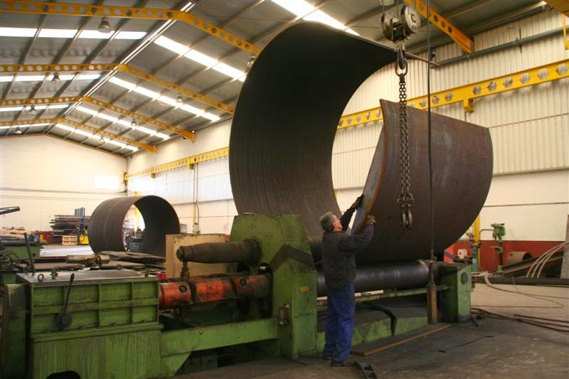 Taller de curvadora de tubo en Sevilla
