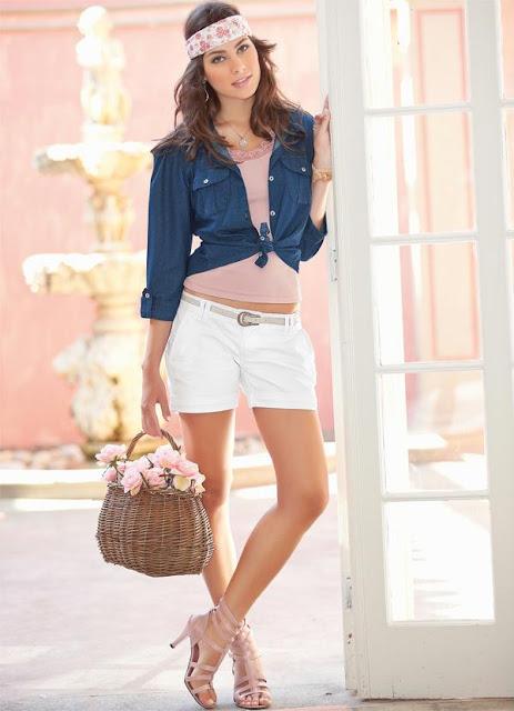 Shorts Branco - Verão 2013