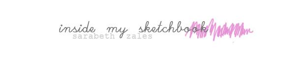 inside my sketchbook