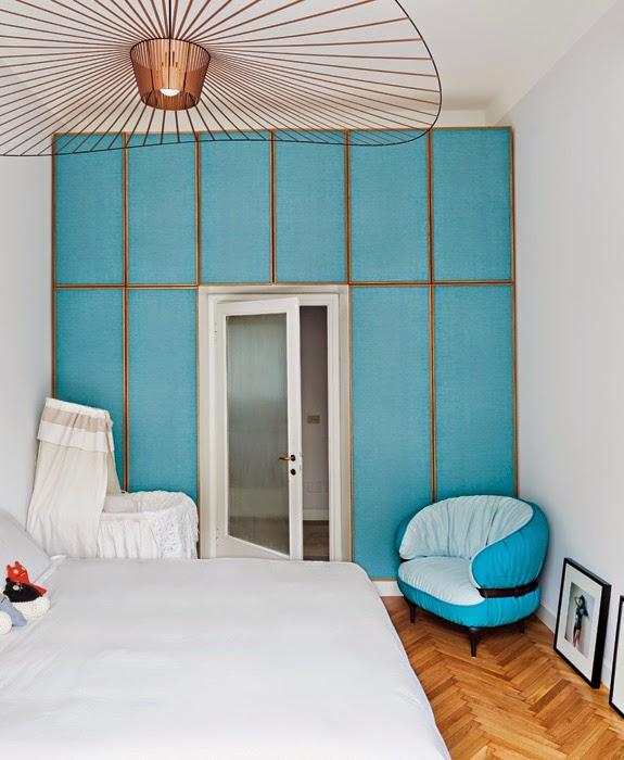 Ein Schlafzimmer In Weiß Und Türkis - Christine Oertel Interior Design