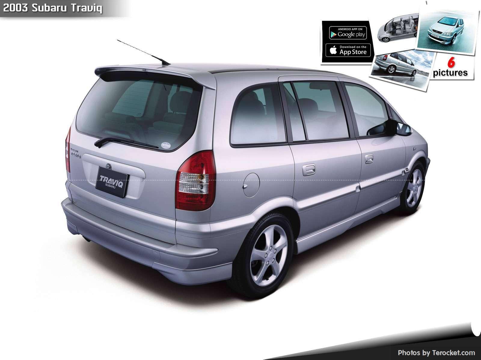 Hình ảnh xe ô tô Subaru Traviq 2003 & nội ngoại thất