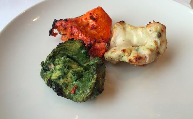Moti Mahal Trio of Chicken