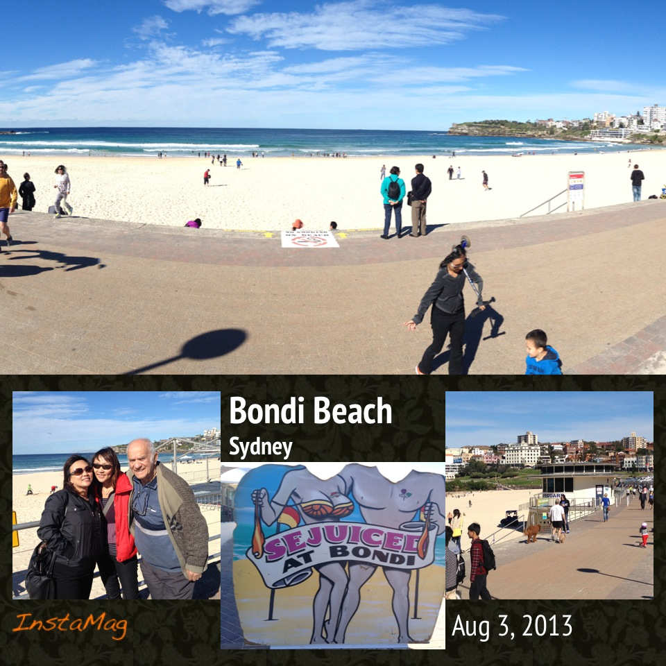 Bondi beach 7 july