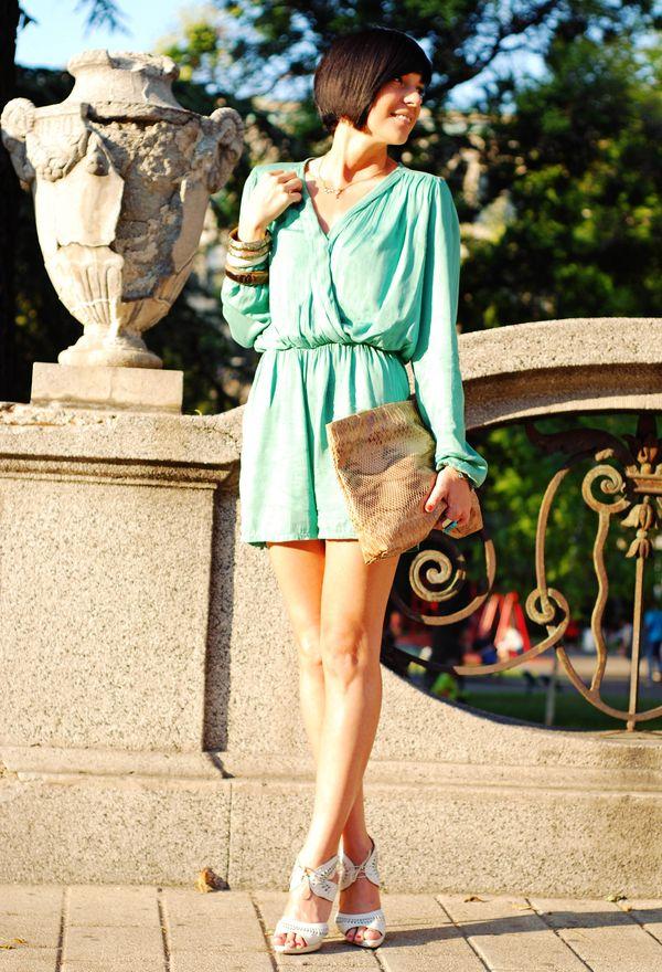 Outfits con vestidos cortos